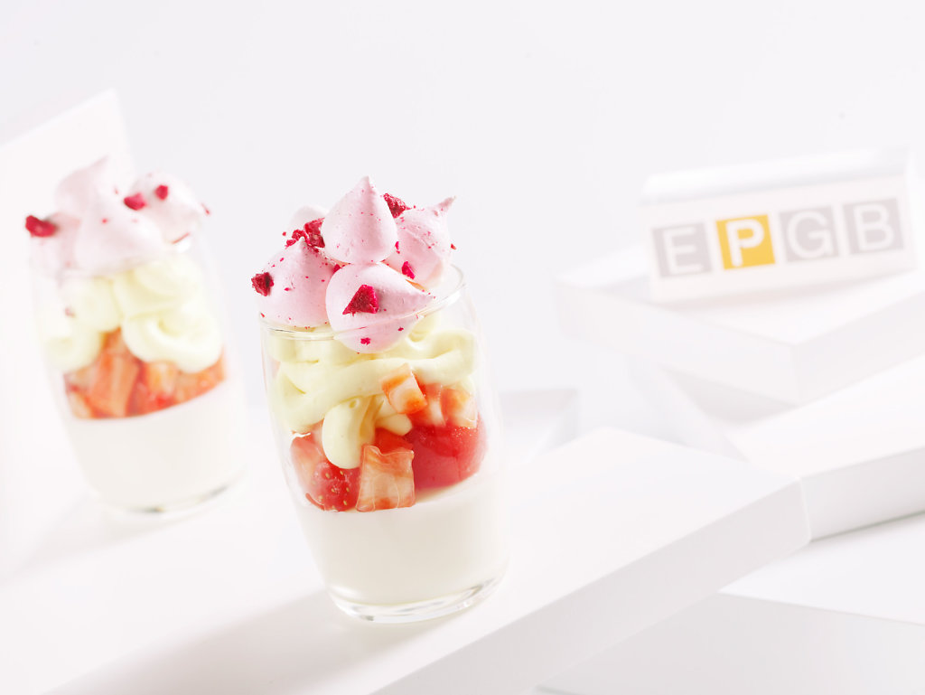 Yogur verrine by Bachour